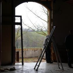 Porte salle du fond