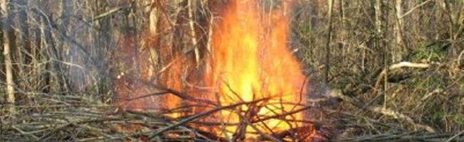 Brûler : la réglementation